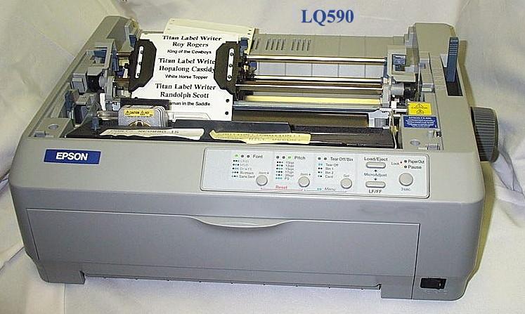 Epson Lq 590 Printer Talal It Supplies